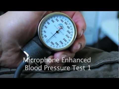 Audio Enhanced Blood Pressure
