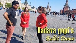 Badava Gopi's Ballet Dance with Russian Girls | Interval TV