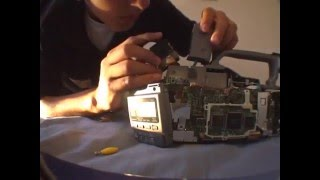 Sony VX1000 Viewfinder Ribbon Cable Repair