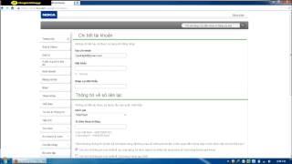 [OVI Store] Hướng dẫn tạo tài khoản Ovi cho các dòng máy Nokia