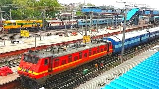 New Delhi Jn: Toofan Express departing from station.