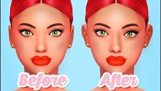 FACIAL ASYMMETRY, FINGER, HAND AND EAR SLIDERS! | THE SIMS 4 // MOD REVIEW