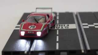Carrera Digital Slot Car light control - Demonstration by www.slotcar.co.nz