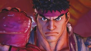 Street Fighter V Story Mode All Cutscenes Movie (Game Movie) Street Fighter 5