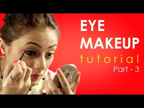 Eye Makeup Tutorial - How to apply kajal - Part 3