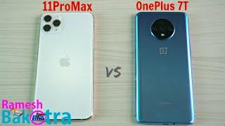 iPhone 11 Pro Max vs OnePlus 7T SpeedTest and Camera Comparison