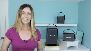 Marshall Stockwell II portable Bluetooth speaker quick review & 411
