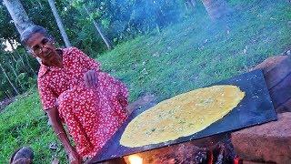 Village Foods- Chicken Egg Omelette prepared by Grandma using 50 eggs / Village Life