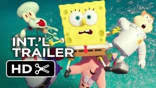 The SpongeBob Movie: Sponge Out of Water International TRAILER 1 (2015) - Animated Movie HD