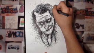 Kalemi Kaldırmadan Resim Çizdim! - Joker