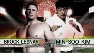 Brock Lesnar Vs Min-soo Kim