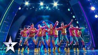Junior New System Rocks Crowd, Earns Golden Buzzer | Asia's Got Talent Semis 2
