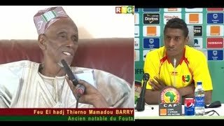 JT RTG DU 28 01 2015.Décès de Elhadj Thierno Mamadou Barry. Syli suspendu