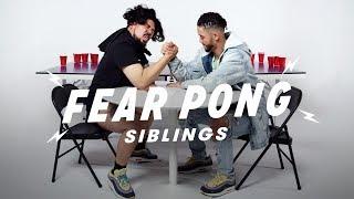 Siblings Play Fear Pong (Dae Shik vs. Dae Yang)   Fear Pong   Cut