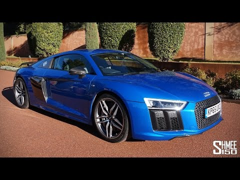 My First Drive in the New Audi R8 V10 Plus Shmee s Adventures