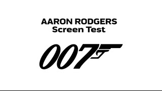 Aaron Rodgers Auditions For James Bond