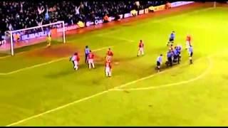David Beckham Amazing Free Kick