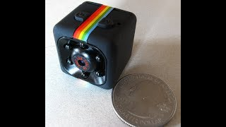 PART1 Original iMars Mini Camera SQ11 HD from BANGGOOD