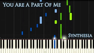 Synthesia Tutorial Vladimir Sterzer - You Are A Part Of Me (Black Mirrors)