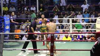 Fede Roma (Sinbi Muay Thai) Wins by KO in a Bloody Fight