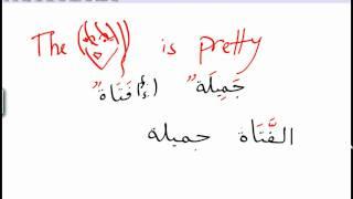 Constructing Arabic Sentences lesson 1