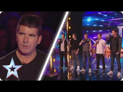 Simon rolled his eyes at this unique boyband Britain s Got Talent Unforgettable Audition