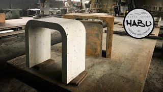 HABU \\ Design Concrete Chair