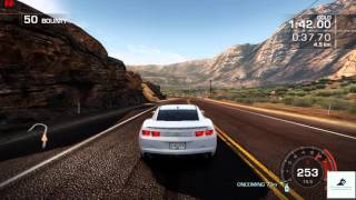 Need For Speed Hot Pursuit (2010) - Memorial Valley - Sidewinder  720p PC Gameplay with FPS