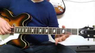 Como Tocar First Date de Blink 182 en Guitarra - Tutorial HD - FermiGuitarra