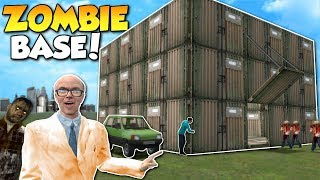 HOW TO SURVIVE ZOMBIE APOCALYPSE!? - Garry's Mod Gameplay - Gmod Zombie Base Building Roleplay