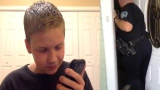 9 year old gets arrested for prank calling 911! MUST WATCH!!!
