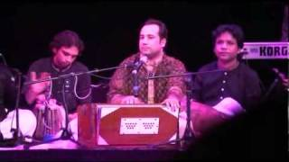 Rahat Fateh Ali Khan Live In Manchester Singing Yeh Jo Halka Halka (part 1)
