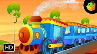Engine Number Nine - English Nursery Rhymes - Cartoon/Animated Rhymes For Kids