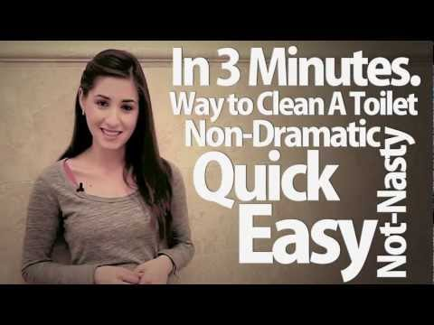 How To Clean A Toilet in 3 Minutes! Easy Bathroom Cleaning Ideas That Save Time! Clean My Space