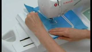 SINGER® FUTURA™ Preparing to Embroider Tutorial
