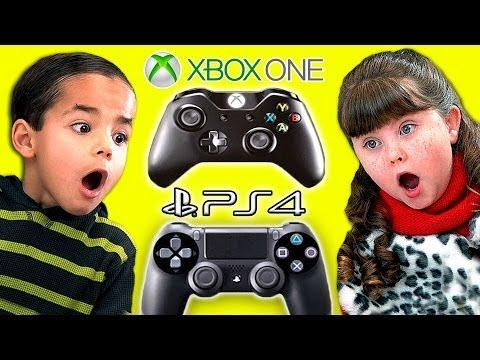 Kids React To XBOX ONE vs.