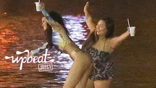 Rihanna's Late Night Swim Turns To Crap
