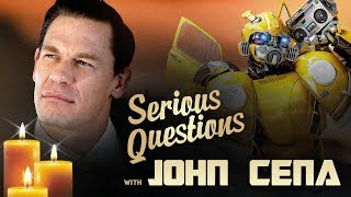 John Cena Has Serious Questions About Transformers