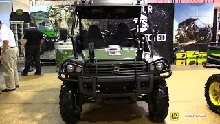 2015 John Deere Gator 855D Utility ATV - Exterior and Interior Walkaround - 2014 Toronto ATV Show