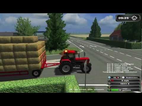 Bale driving ★ Bloopers in Farming Simulator HD