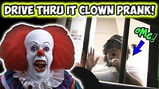 Drive Thru IT Clown Prank!!