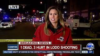4 people shot, 1 dead in downtown Denver shooting