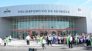 Egidio Torre Inauguró Polideportivo en Reynosa