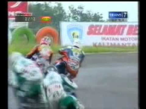 Final Road race Indoprix 110cc 2007