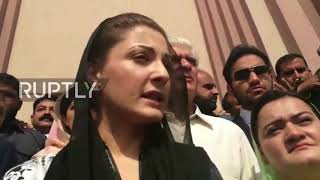 Pakistan: Daughter of ex-Pakistani PM appears in court, calls corruption allegations a
