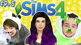 Aging Up to Adults - The Sims 4: Raising YouTubers PETS - Ep 5 (CAS | Cats & Dogs)