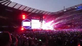 Coldplay  Colour Spectrum  Charlie Bown At The Etihad Stadium Manchester 562016