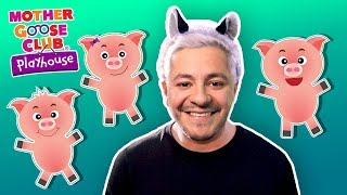 The Three Little Pigs | Johny Johny Outdoor Play Time | Mother Goose Club Playhouse Kids Video
