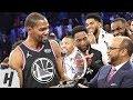 Download Video Download Kevin Durant MVP Trophy Presentation | February 17, 2019 NBA All-Star Game 3GP MP4 FLV