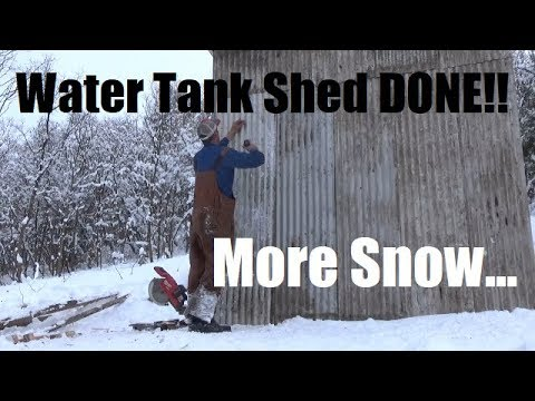 Xxx Mp4 Water Tank Shed Finished Excessive Snow Continues 3gp Sex